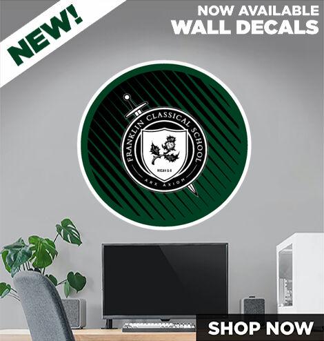 Franklin Classical School Knights Online Store DecalDualBanner Banner