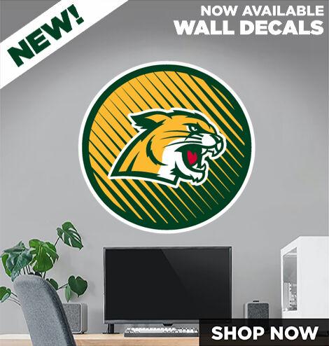 Northern Michigan Wildcats DecalDualBanner Banner