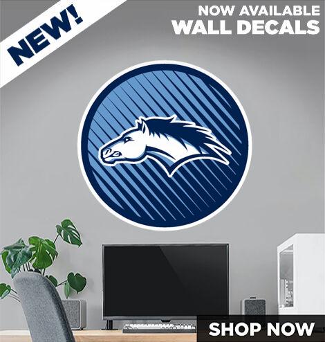 Platte Valley Broncos DecalDualBanner Banner