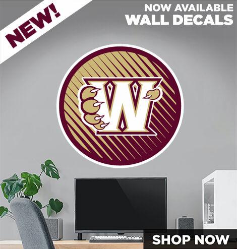 Whitney Wildcats DecalDualBanner Banner