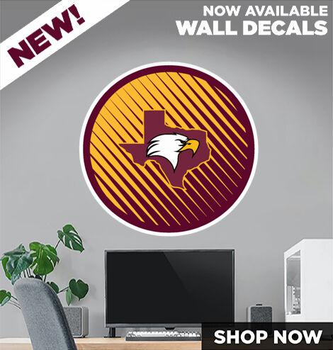 ILTexas Eagles DecalDualBanner Banner