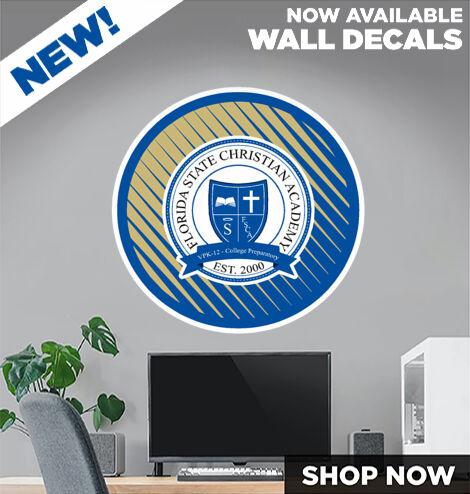 Florida State Christian Academy DecalDualBanner Banner