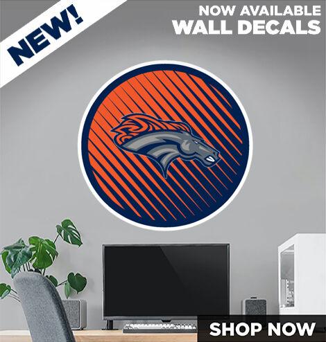 East Forsyth Broncos DecalDualBanner Banner