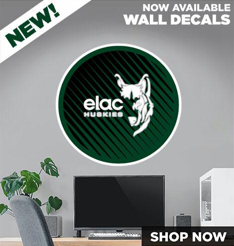 EAST LOS ANGELES COLLEGE Huskies DecalDualBanner Banner