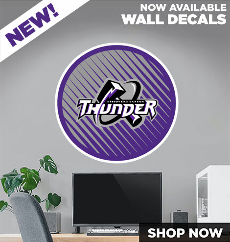 Discovery Canyon  Thunder DecalDualBanner Banner