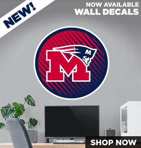 Marion Patriots DecalDualBanner Banner