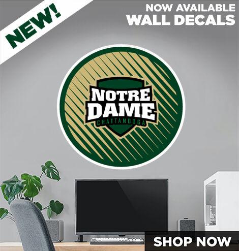 Notre Dame Irish DecalDualBanner Banner
