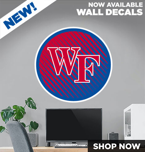 Wake Forest Cougars DecalDualBanner Banner