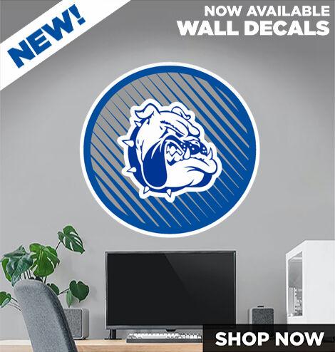 Burke Bulldogs DecalDualBanner Banner