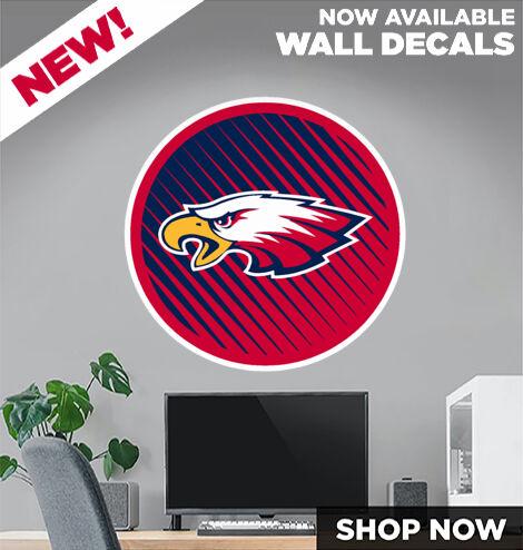 Milton Eagles DecalDualBanner Banner