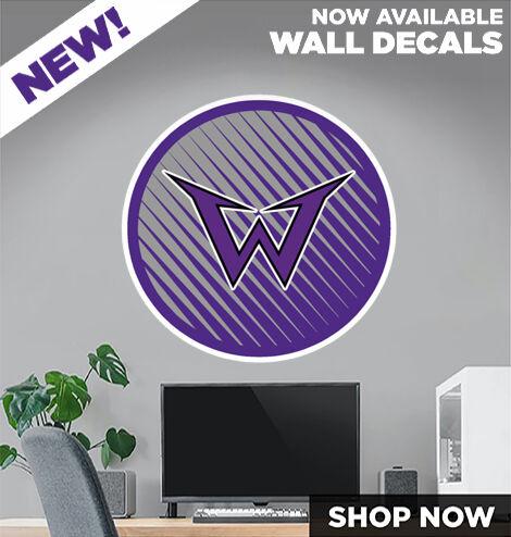 Warrenton Warriors DecalDualBanner Banner