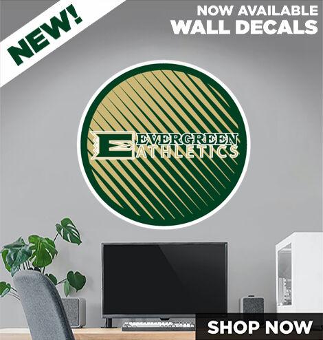 Evergreen Wolverines DecalDualBanner Banner