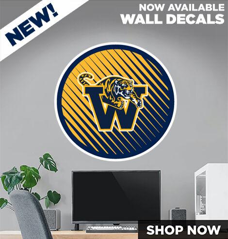 Warrensville Tigers DecalDualBanner Banner