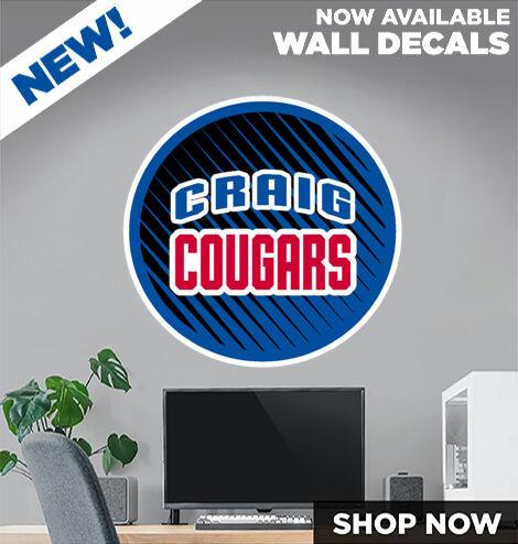 Janesville Craig Cougars DecalDualBanner Banner