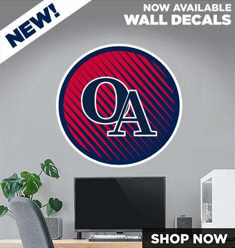 Oakdale  Patriots DecalDualBanner Banner