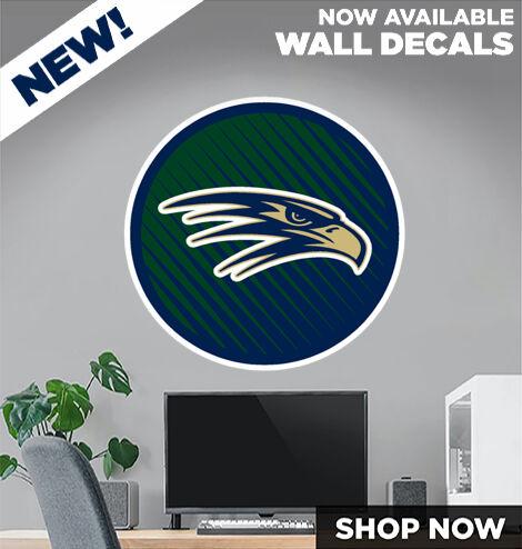 Del Norte High School Nighthawks DecalDualBanner Banner