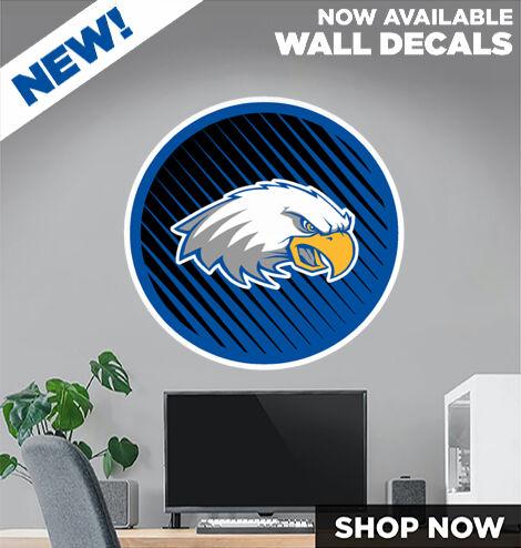 Brooks Eagles DecalDualBanner Banner