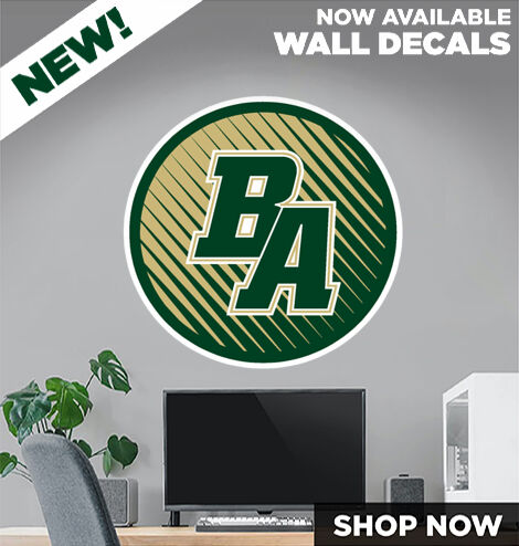 BULLOCH ACADEMY Home of the Gators DecalDualBanner Banner