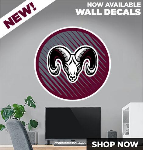 FORT PLAIN HIGH SCHOOL HILLTOPPERS DecalDualBanner Banner