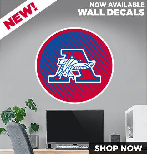 ARMSTRONG HIGH SCHOOL FALCONS DecalDualBanner Banner