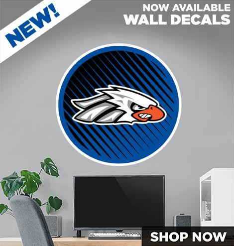 SCU Eagles DecalDualBanner Banner