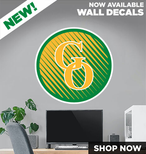 GREEN OAKS HIGH SCHOOL GIANTS DecalDualBanner Banner