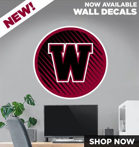 WATONGA HIGH SCHOOL EAGLES DecalDualBanner Banner