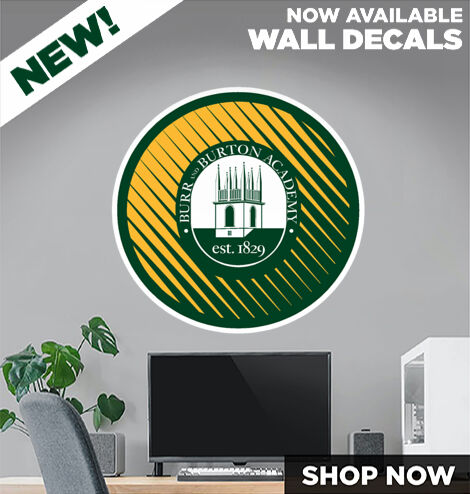 BURR AND BURTON ACADEMY The Official Online Store DecalDualBanner Banner