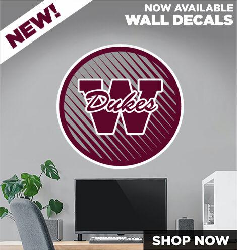 WELLINGTON HIGH SCHOOL DUKES DecalDualBanner Banner