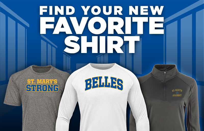 St. Mary's Belles Favorite Shirt Updated Banner