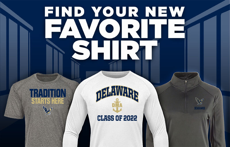 DELAWARE MILITARY ACADEMY SEAHAWKS Favorite Shirt Updated Banner