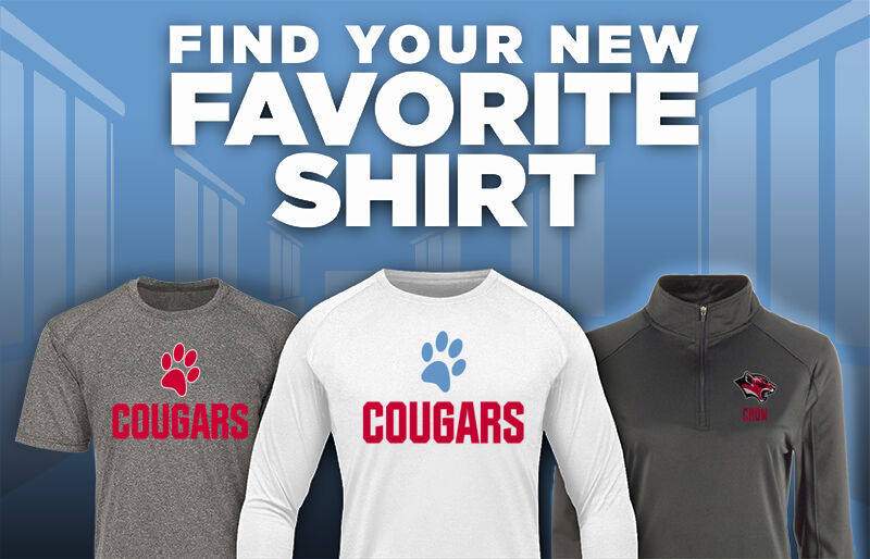 CROW HIGH SCHOOL Cougars Online Store Favorite Shirt Updated Banner