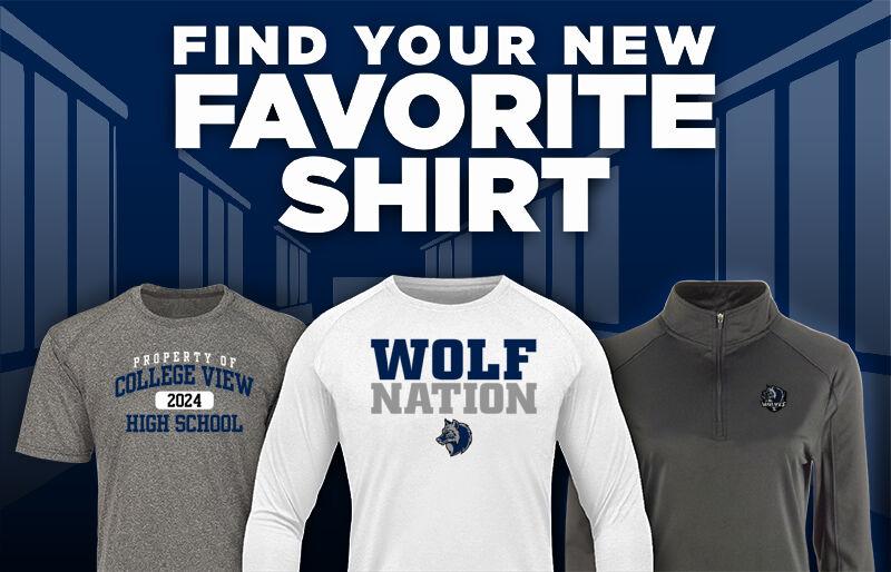 DSST: College View Wolves Favorite Shirt Updated Banner