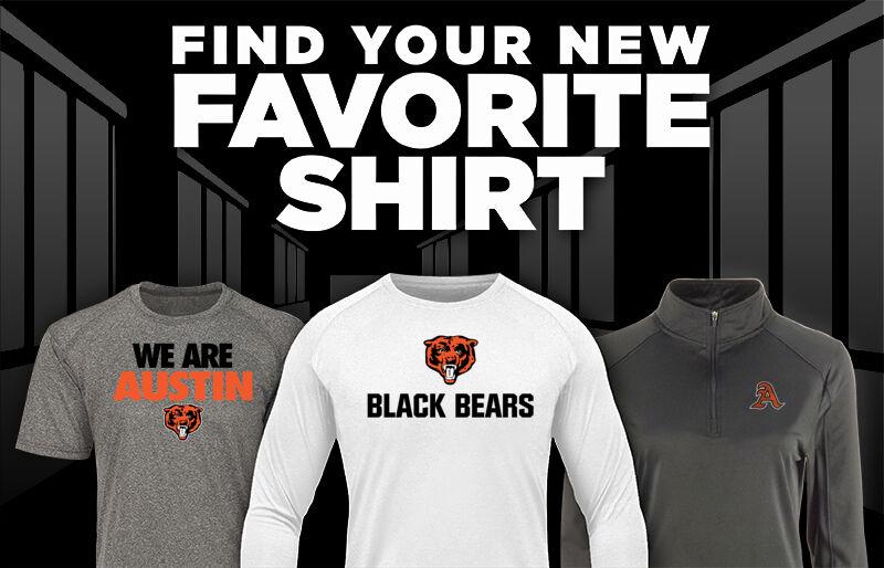 AUSTIN HIGH SCHOOL BLACK BEARS Favorite Shirt Updated Banner