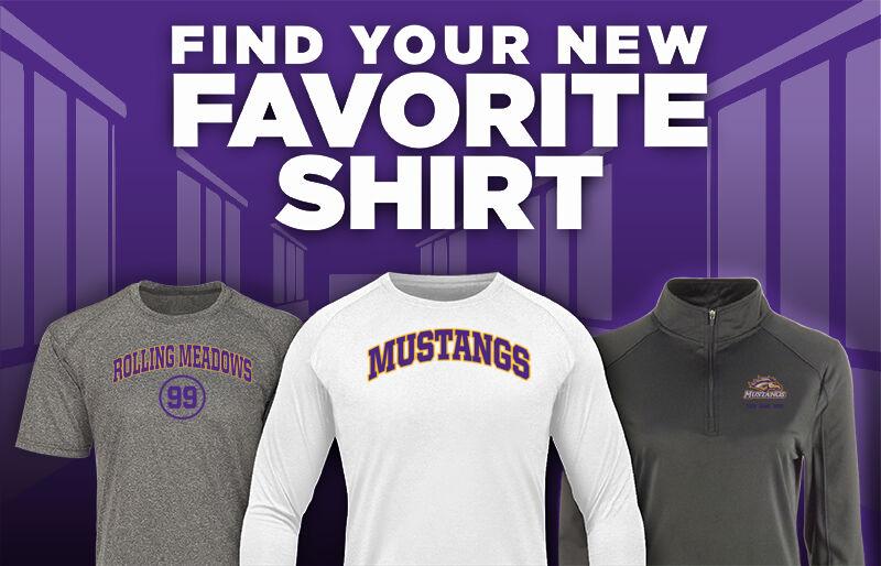 Rolling Meadows Mustangs Favorite Shirt Updated Banner