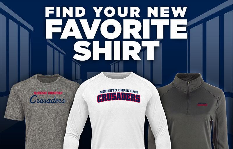 MODESTO CHRISTIAN HIGH SCHOOL CRUSADERS Favorite Shirt Updated Banner