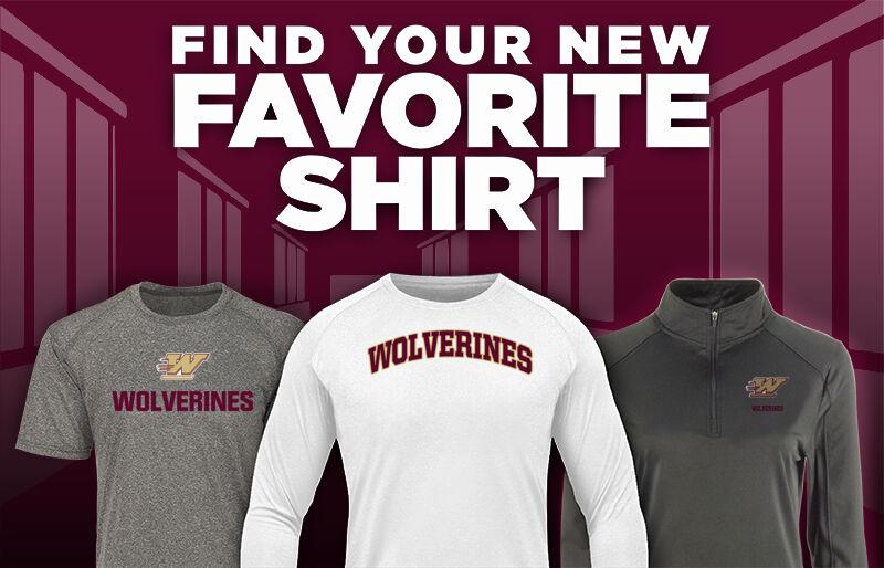 WOODRUFF HIGH SCHOOL WOLVERINES Favorite Shirt Updated Banner