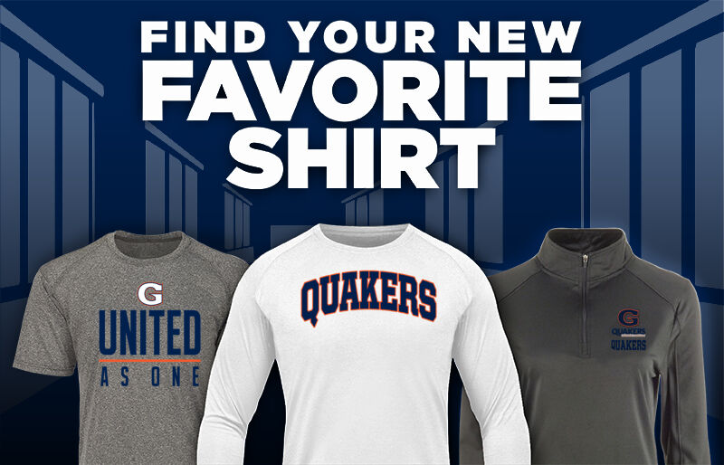 HORACE GREELEY HIGH SCHOOL QUAKERS Favorite Shirt Updated Banner