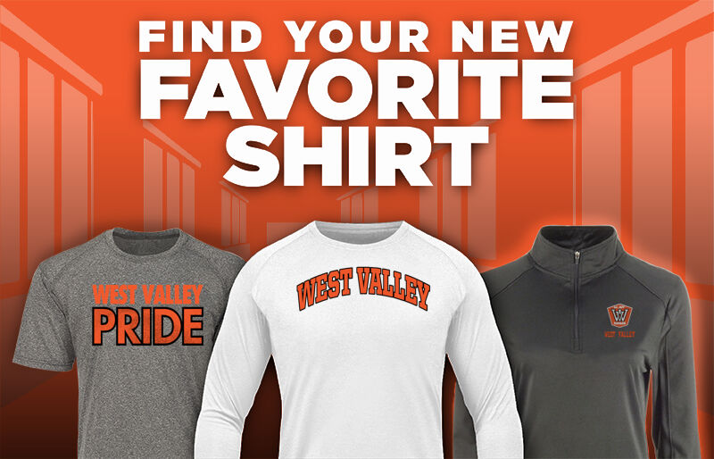 WEST VALLEY HIGH SCHOOL EAGLES Favorite Shirt Updated Banner