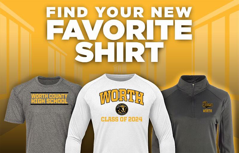 Worth Rams Favorite Shirt Updated Banner