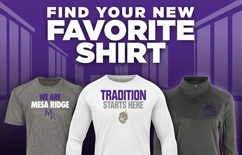 Mesa Ridge Grizzlies Favorite Shirt Updated Banner