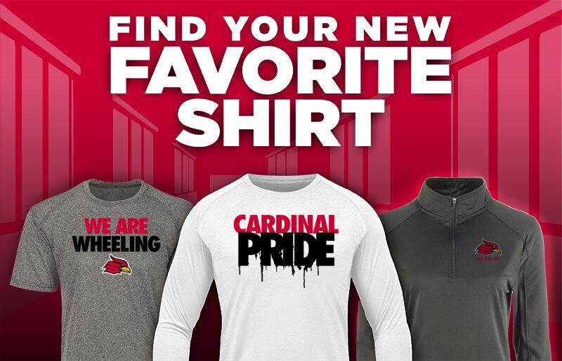 Wheeling University Cardinals Online Store Favorite Shirt Updated Banner