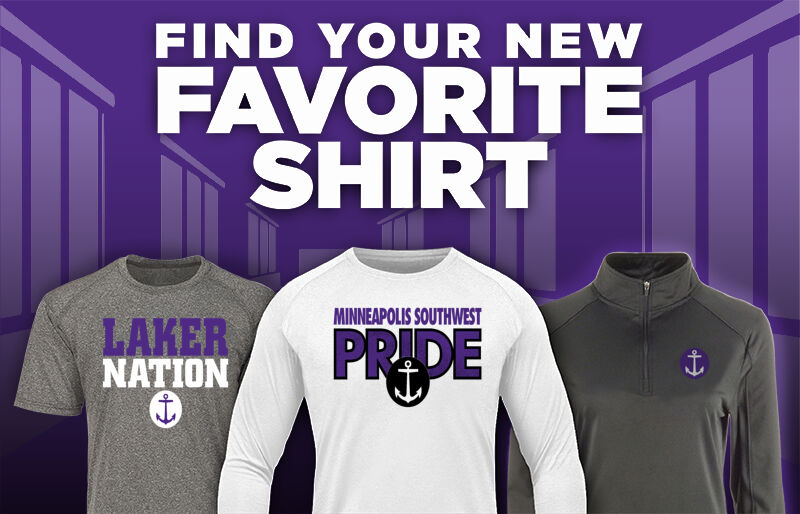 Minneapolis Southwest Lakers Favorite Shirt Updated Banner
