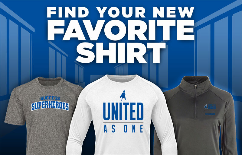 Success Academy Superheroes official sideline store Favorite Shirt Updated Banner