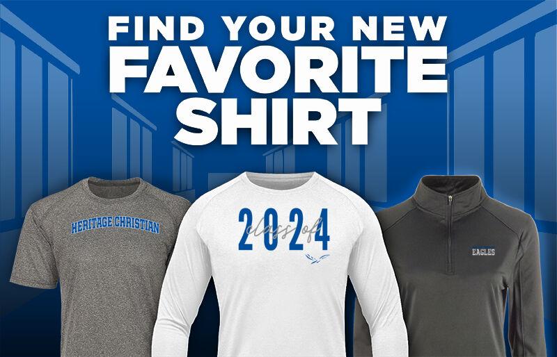Heritage Christian Eagles Favorite Shirt Updated Banner