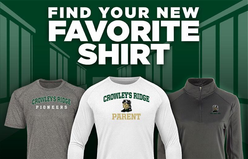 Crowley's Ridge Pioneers Favorite Shirt Updated Banner