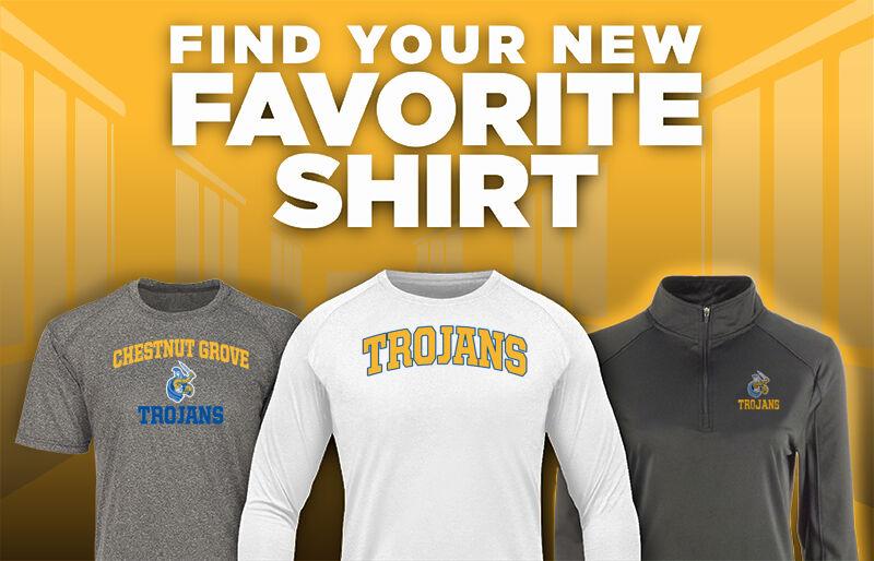 Chestnut Grove Trojans Favorite Shirt Updated Banner