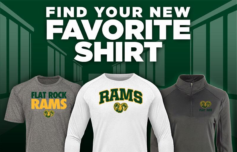 Flat Rock Rams Favorite Shirt Updated Banner