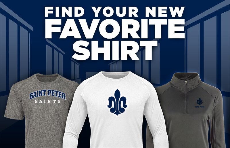 Saint Peter High School SAINTS ONLINE STORE Favorite Shirt Updated Banner