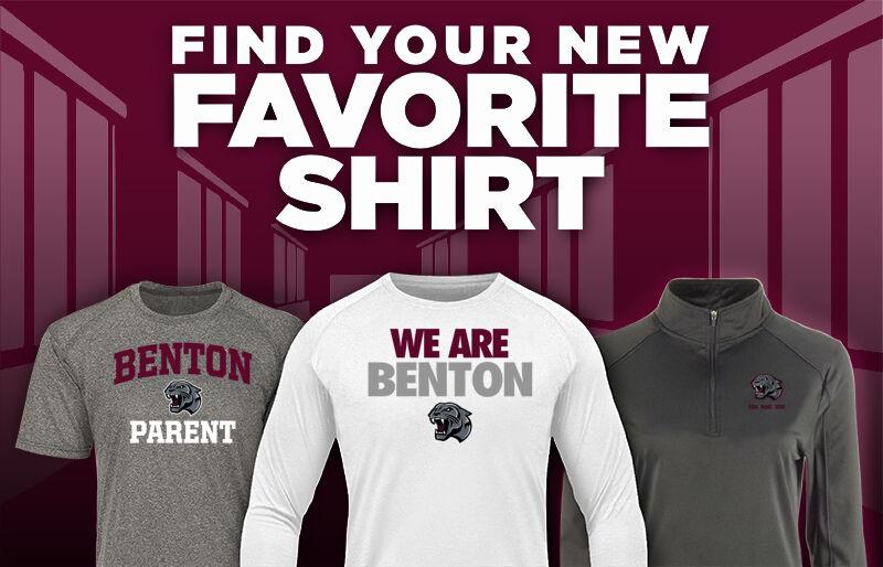 Benton High School Panthers Online Store Favorite Shirt Updated Banner
